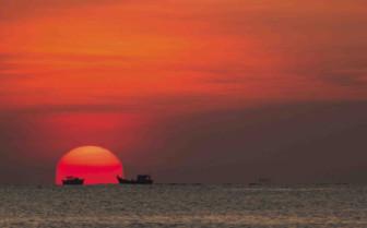 Sunset in Nha Trang