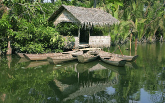 Riverside Hut Mekong Delta