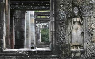 Frames into Angkor