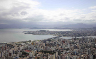 Cloudy day at Florianopolis