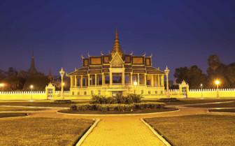 Silver Pagoda at Night