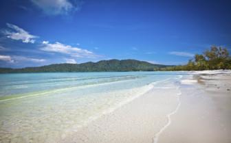 Beautiful Beach on Koh Rong