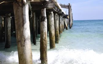Pontoon into the Sea
