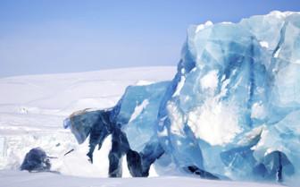A Glassy Glacier - Svalbard