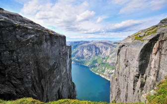Lysefjord from Mount Kjerag