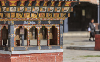 Thimphu Prayer Wheels