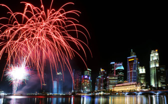 Fireworks in the Harbour