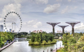 A Park in Singapore