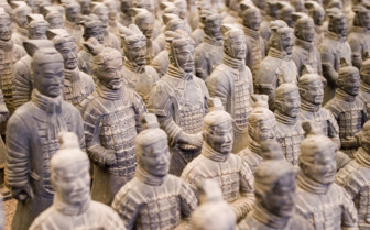 Terracotta Soldiers in Formation