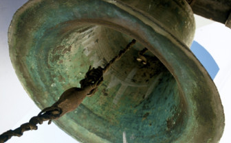 Rusted Bell in Sucre