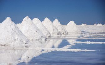 Mounds of Salt - Uyuni