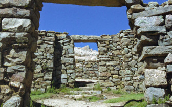 Inca Ruins on Isla del Sol