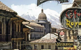 Rooftops of La Paz