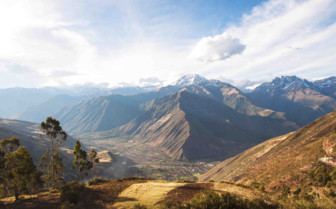 Sacred Valley at Sunlight