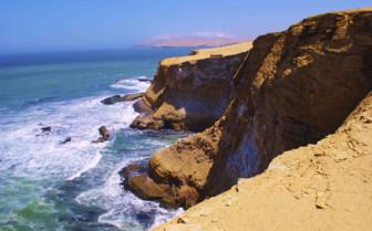Clifftop craggy Coastline