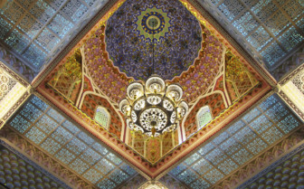 Elaborate Ceiling on Malaysian Island