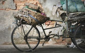 Rusted Bicycle in Penang