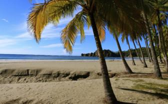 Central American beach