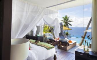 Beautiful Bedroom View, Seychelles