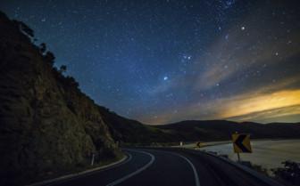 Starry Skies above the Great Ocean Road
