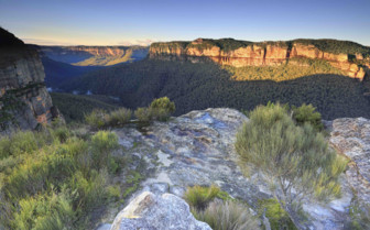 Walls lookout in the Blue Mountains