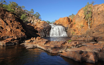 Waterfall in Kakadu National park