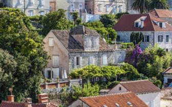 Dubrovnik houses