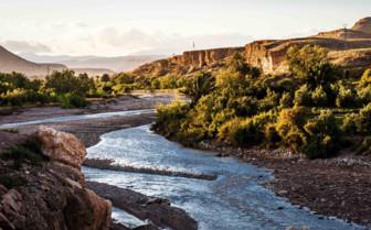 Southern Desert river landscape