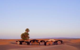 Houses in Zagora, Morocco