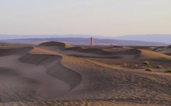 Zagora desert overview