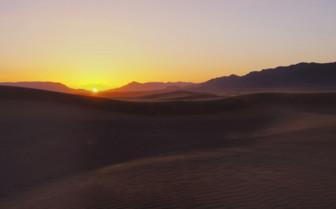 Southern Desert sunset