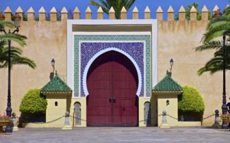 Fez Royal Palace gates