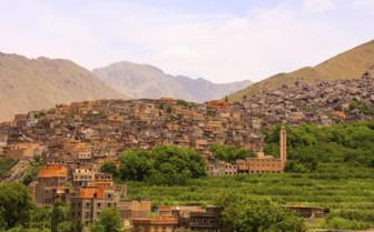 Moroccan mountain village