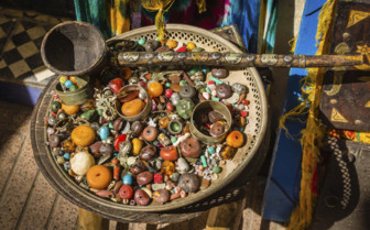 Beads and jewellery in Morocco