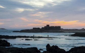 Sunset over Essaouira