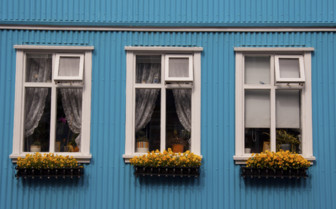 Traditional Nordic windows
