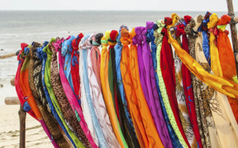 Colourful scarves in Kenya