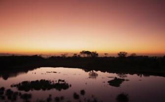 Sunset in Samburu