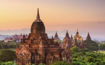 Pagados in Bagan