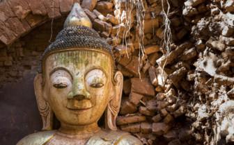 Buddha Indein village