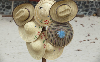 Hats on Ngapali beach