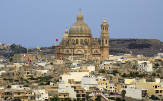 Church Xewkija in Gozo