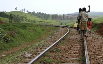 Railway children in Uganda