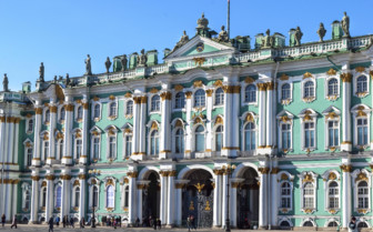Hermitage Museum in St Petersburg