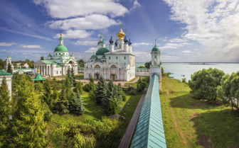 Rostov day view in Russia