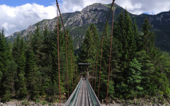 Bridge in the Lech Valley
