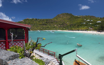 St Barts ocean view