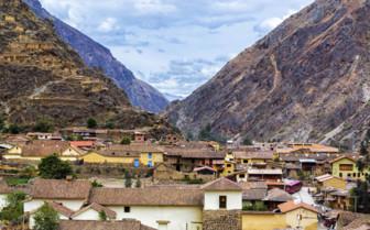 Ollantaytambo village
