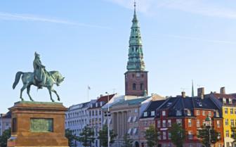 Equestrian statue of Frederik VII Copenhagen