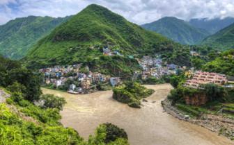 Mountain River, Himalayas